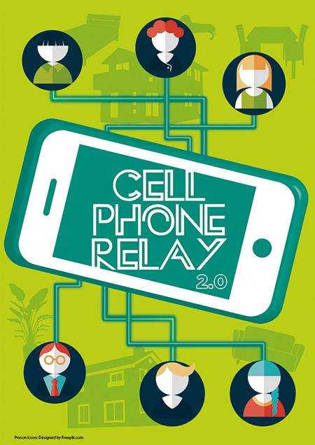 [miptv2015 Format] CELL PHONE RELAY 2.0|Yomiuri Telecasting Corporation (YTV)