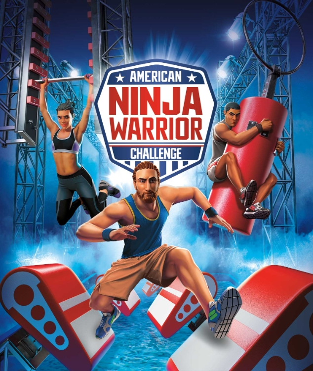 Official American Ninja Warrior Console Game is Available Now in North America for PlayStation 4, Xbox One and Nintendo Switch